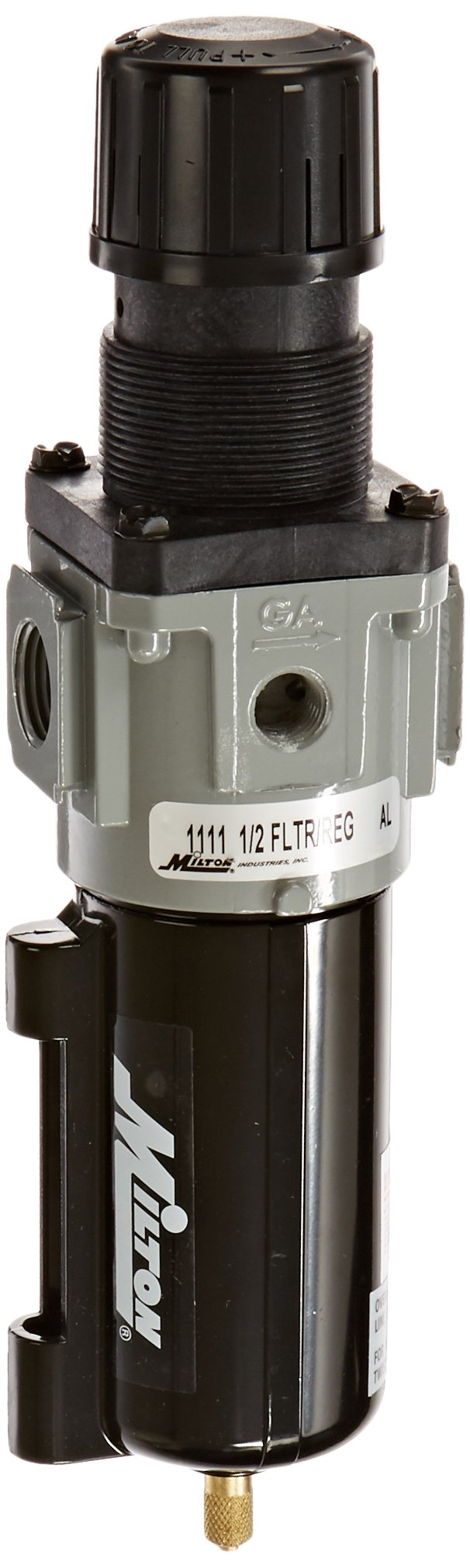 Milton 1111 1/2'' Filter and Regulator Piggyback by Milton Industries