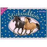 Lutz Mauder 72016 TapirElla Stickeralbum, Pferde