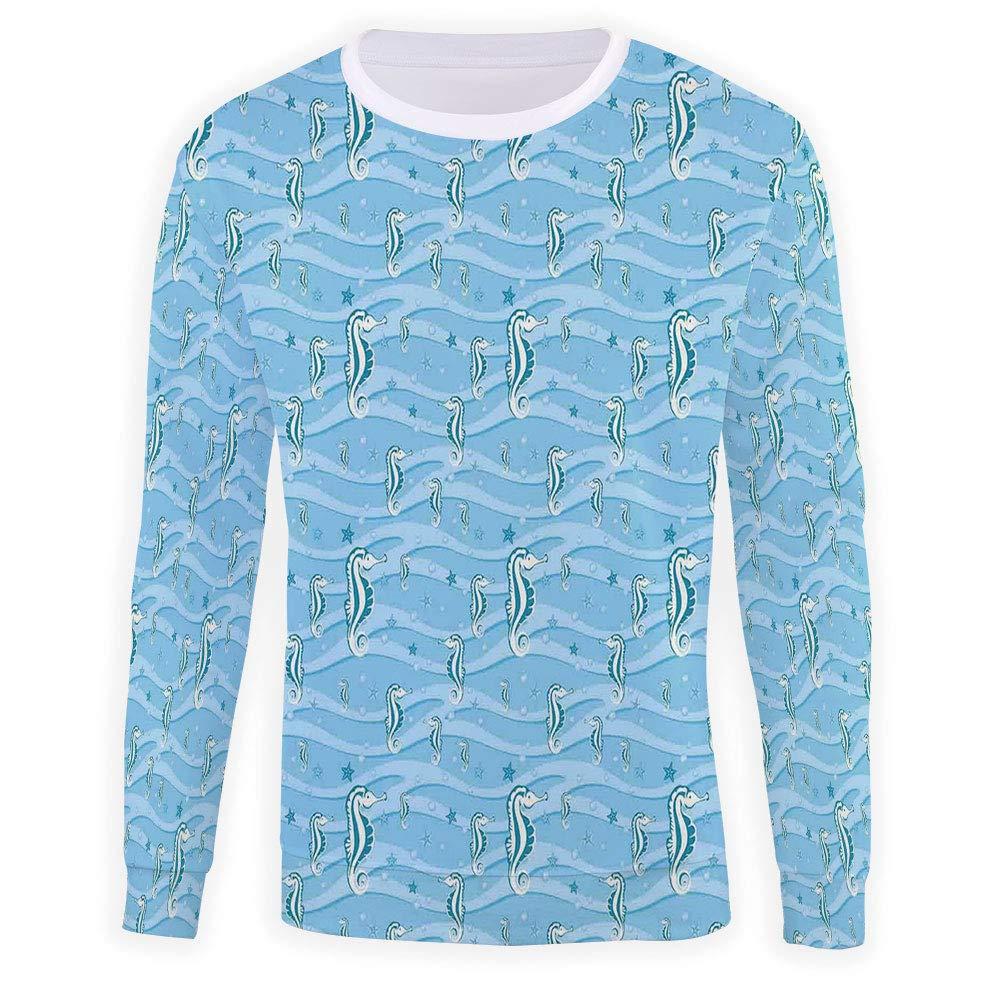 Mens Anchor Sweatshirt Pullover