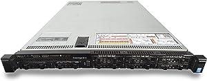 Dell PowerEdge R630 8 Bay SFF 1U Server, 2X Intel Xeon E5-2667 V4 3.2GHz 8C, 48GB DDR4, 8X 500GB 7.2K SAS 2.5 Drives, PERC H730, iDRAC 8 Express, 2X 750W PSUs, No Rails (Renewed)