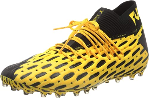 PUMA Men's Future 5.1 Netfit Mg Football Boots, Yellow ...