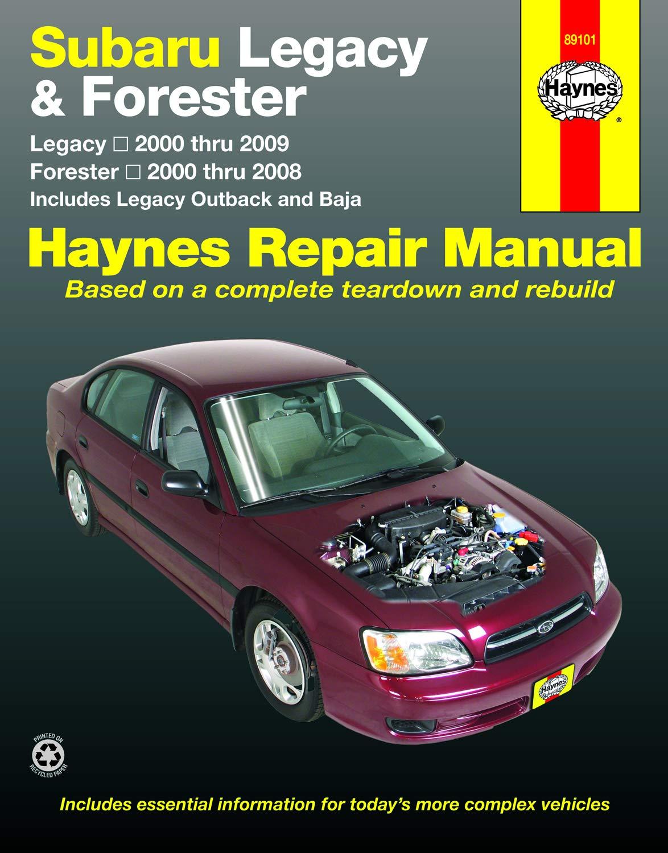 Subaru Legacy/Forester 2000-09 (Haynes Repair Manual ... on