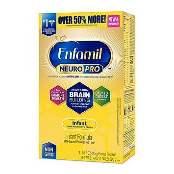 Enfamil NeuroPro Infant Formula - The Brain Building Advantages of Breast Milk - Powder Refill Box