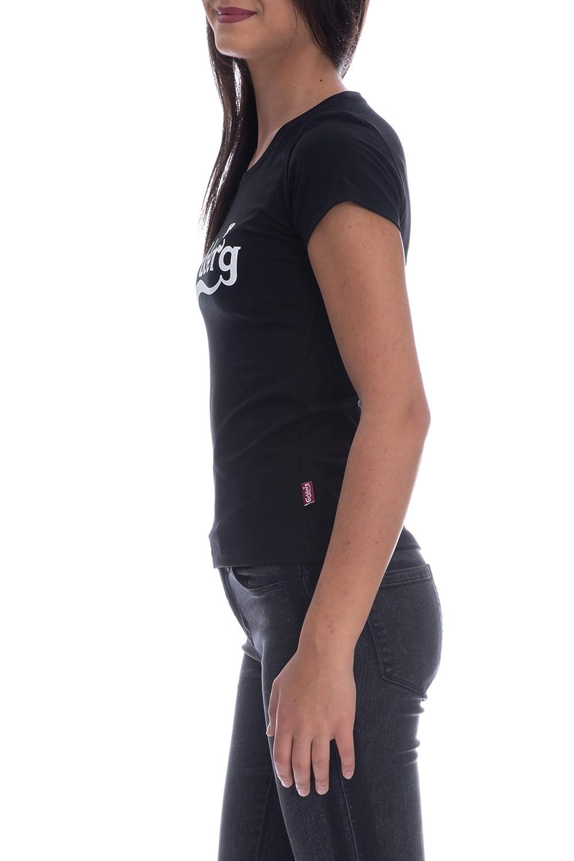 Carlsberg T Shirt Manica Corta Donna nera