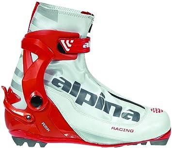 Alpina RSK Race Series CrossCountry Nordic Skate Ski Boots Pearl - Alpina skate ski boots