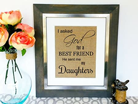 Prints UNIQUE Gift Ideas For Mom Dad From Daughters Daughter Gifts Grown Children Kids Presents
