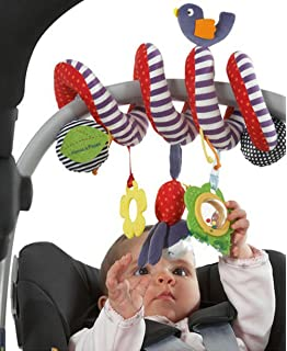 Amazon.com: Cute Infant Baby Play Activity Spiral Bed & Stroller ...
