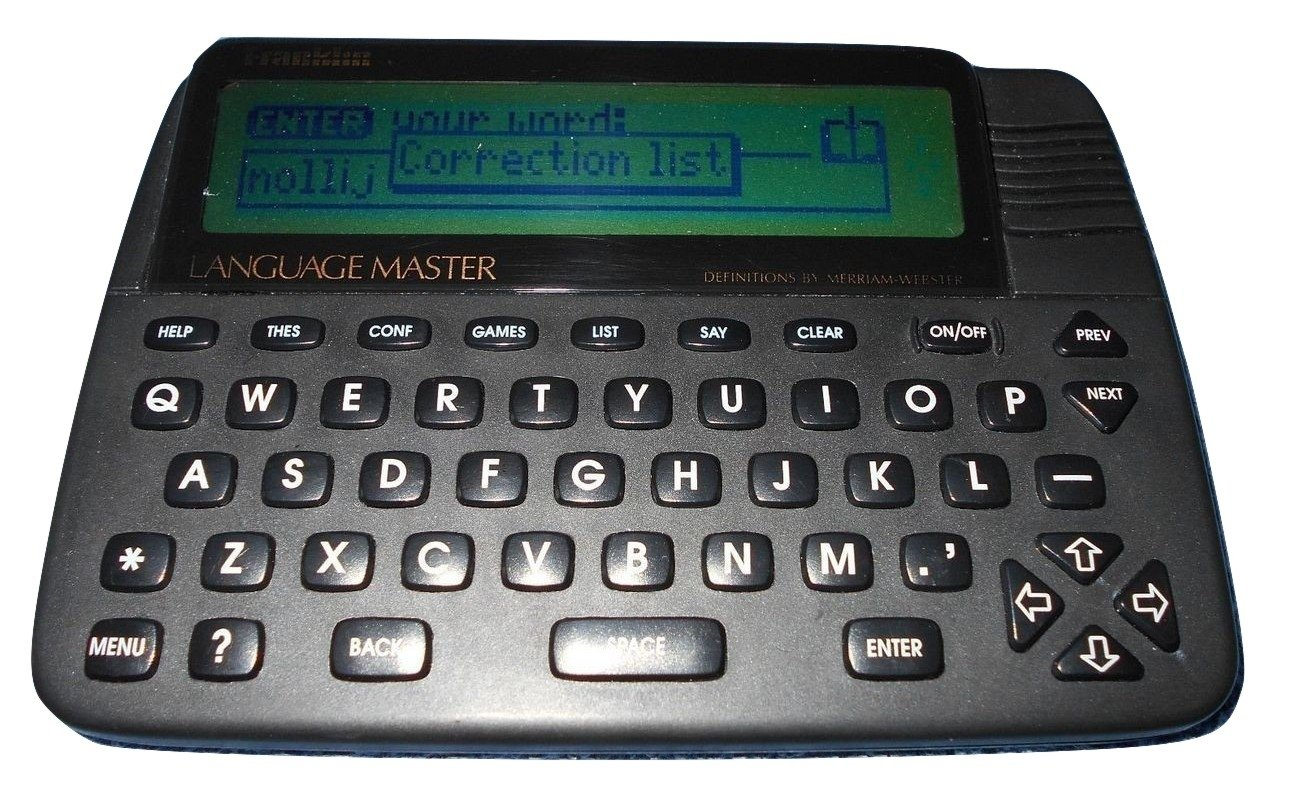 Franklin Language Master 4200