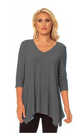 514417029fabb Alisha.D Travel Wear Tunic Fall Colors at Amazon Women s Clothing store