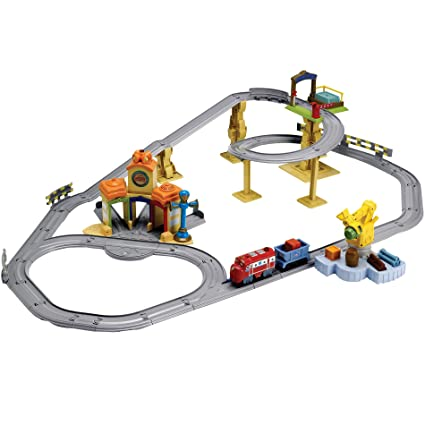 Amazon.com: Chuggington Interactive All Around Railway Set: Toys & Games