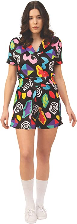 Stranger Things Eleven Mall Dress Womens Fancy Dress Costume ...