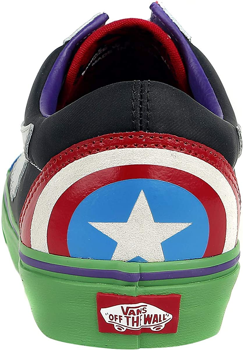 Vans U Sk8-hi, Baskets Mixte Enfant Avengers Multicolore