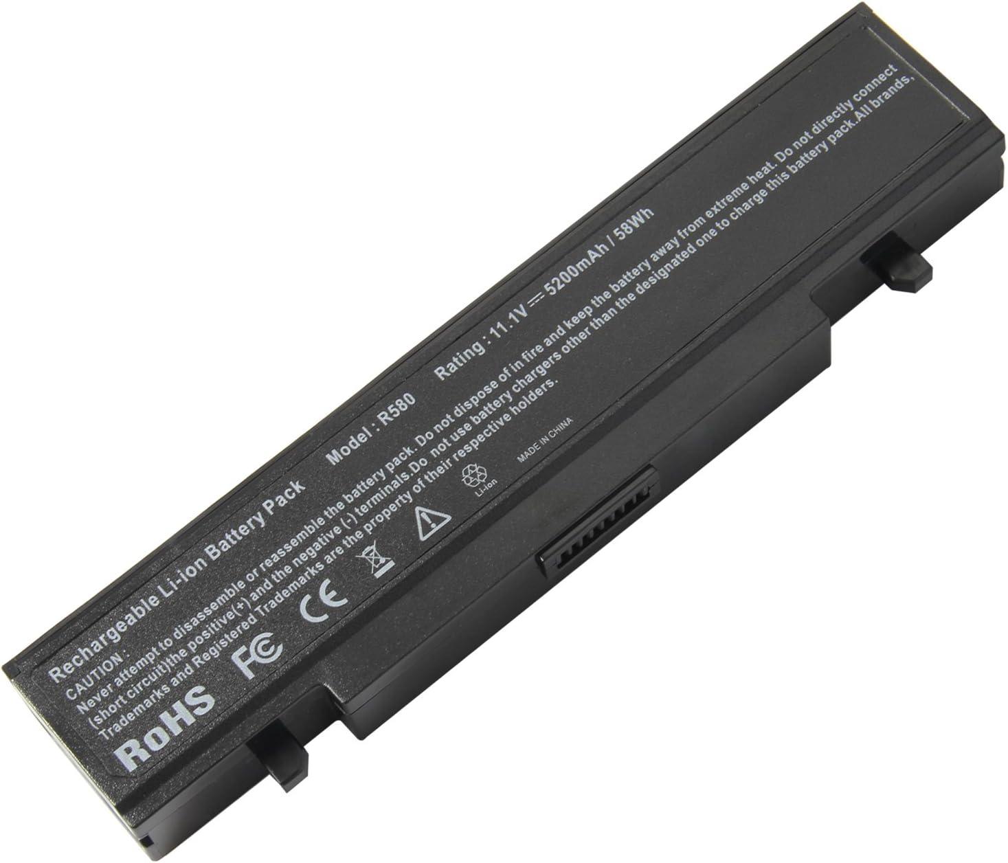 ARyee Battery Laptop for Samsung AA-PB9MC6B AA-PB9NC6B AA-PB9NC6W AA-PB9NS6B R420 R430 R468 R470 R480 RV510 RV511 RC512 R519 R520 R530 R540 R580 R730 Q320 Q430 Np550P5c Np365e5c