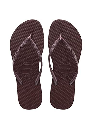 Havaianas Damen High Fashion Zehentrenner, Violett (Grape Wine), 37 EU (35 Brazilian)