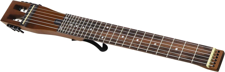 Anygig - Cuerdas de nailon para guitarra clásica portátil de 6 trastes, 25,5 pulgadas