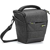 Camera Case Evecase Digital SLR/DSLR Professional Camera Shoulder Holster Bag for Compact System, Hybrid, Mirrorless…