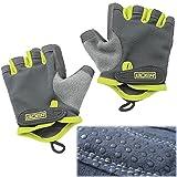 Eloiro Half Gloves, Men/Women Light Breathable