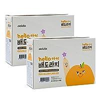 Organic Korean Pear Bellflower Root Juice [ Korean Food ] Healthy Natural Juice For Kids, No Sugar or Additives [ JRND Foods ] 20 Pouches