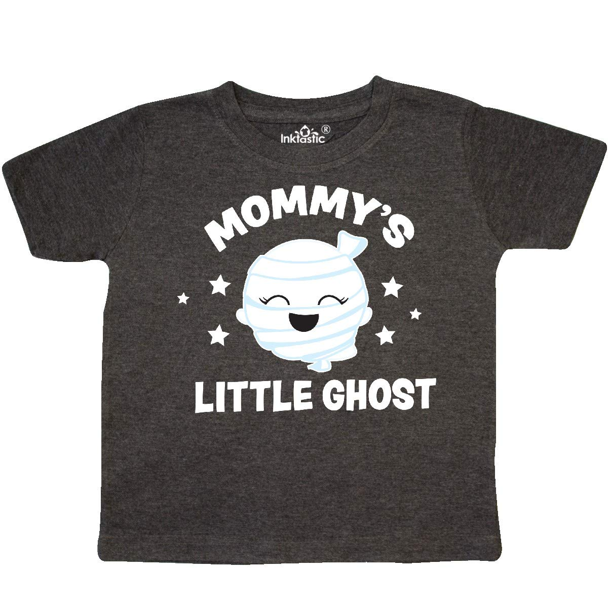 inktastic Cute Mommys Little Ghost with Stars Toddler T-Shirt