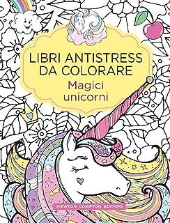 Amazonit Unicorno Libro Da Colorare Oltre 60 Bellissimi Unicorni
