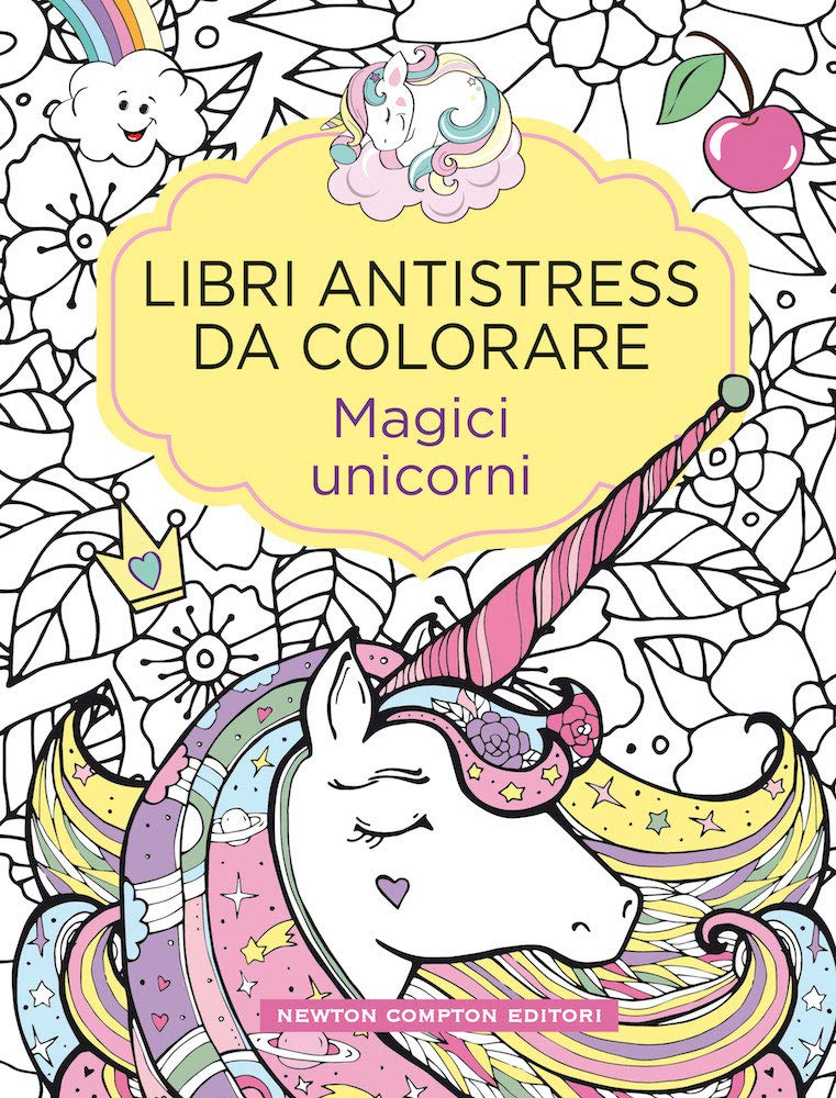 Magici Unicorni Libri Antistress Da Colorare Amazon It Libri