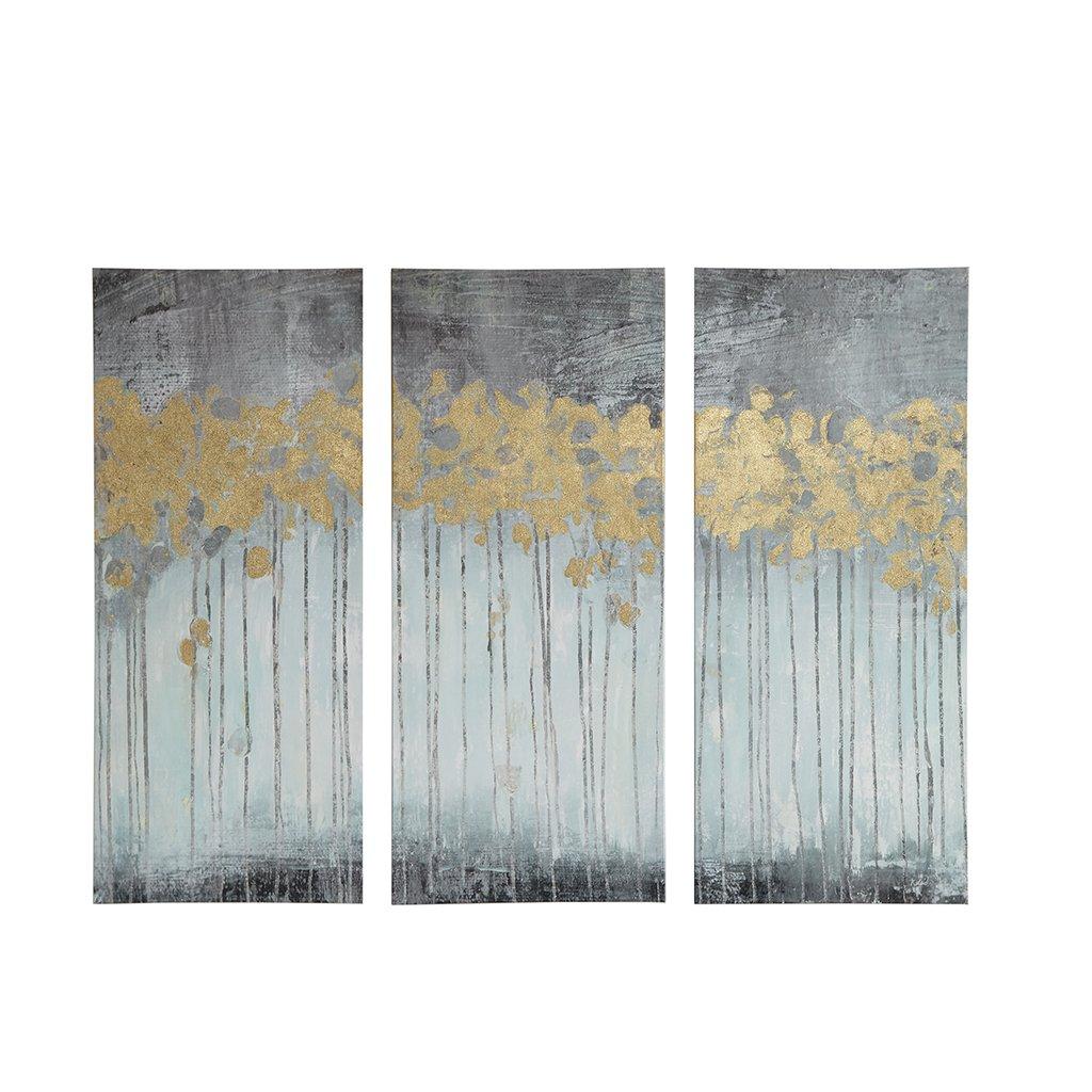 amazon com madison park evening forest grey canvas wall art 15x35 3