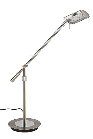 Briloner Leuchten Tischlampe Tischleuchte Nachttischlampe LED Leselampe Bett