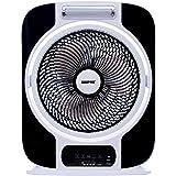 Geepas 12 Rechargeable Fan Gf989, Black