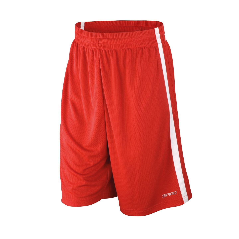 Spiro Herren Basketball Quick Dry Shorts S279M