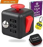 Agitano: Cube ansia attenzione Toy con bonus caso eBook (inglese) inclusa - allevia lo stress e ansia e Relax per gli adulti e per i bambini
