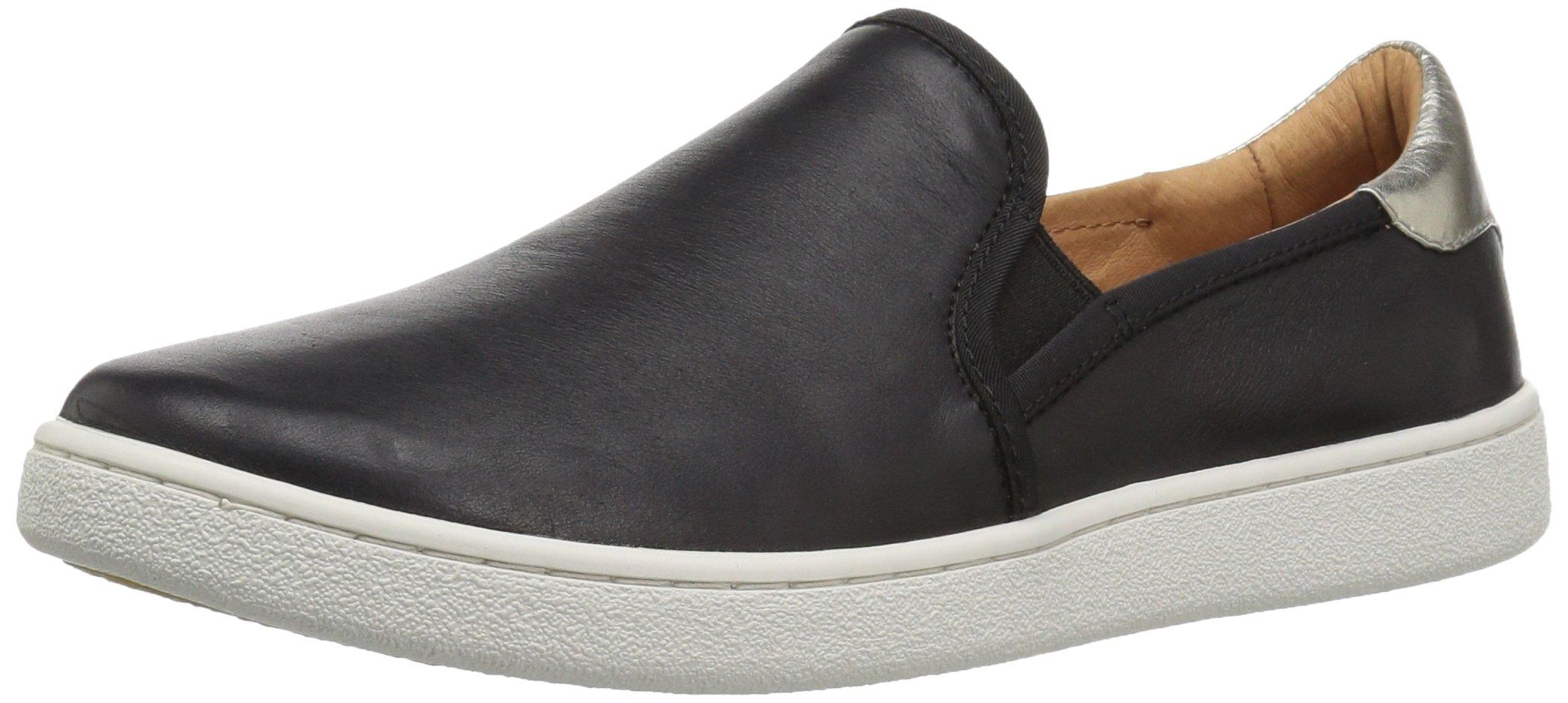 UGG Women's Cas Fashion Sneaker,Black,8 M US