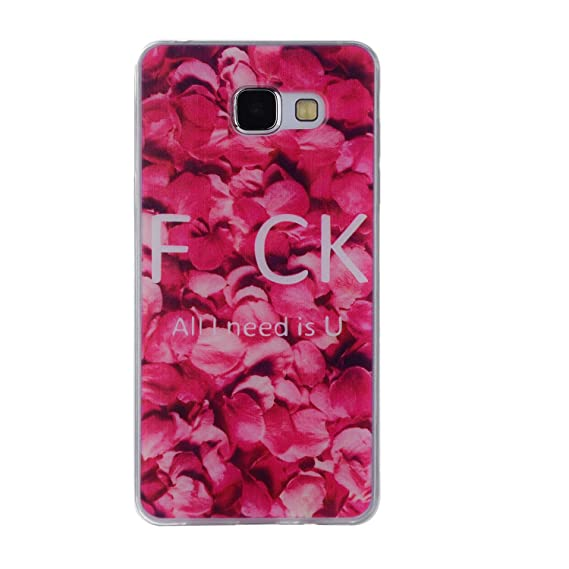 Hotom Store Cartoon Flower Tree Painted Back Cover Silicon Gel Soft Tpu Mobile Phone Case For