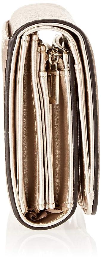 Guess Damen Flora Taschenorganizer, Braun (TaupeTau