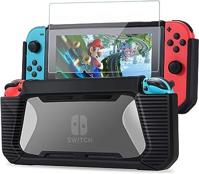 Tasikar Funda Compatible con Nintendo Switch Agarre Mejorado ...