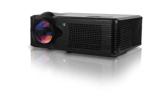 Adeneng® Mini LED proyector 500 lúmenes portátil proyector del ...