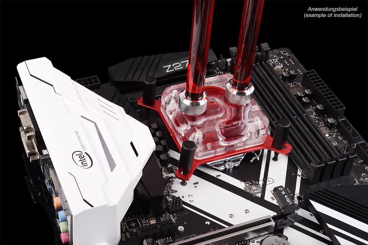Polished Clear Alphacool Eisblock XPX CPU Waterblock