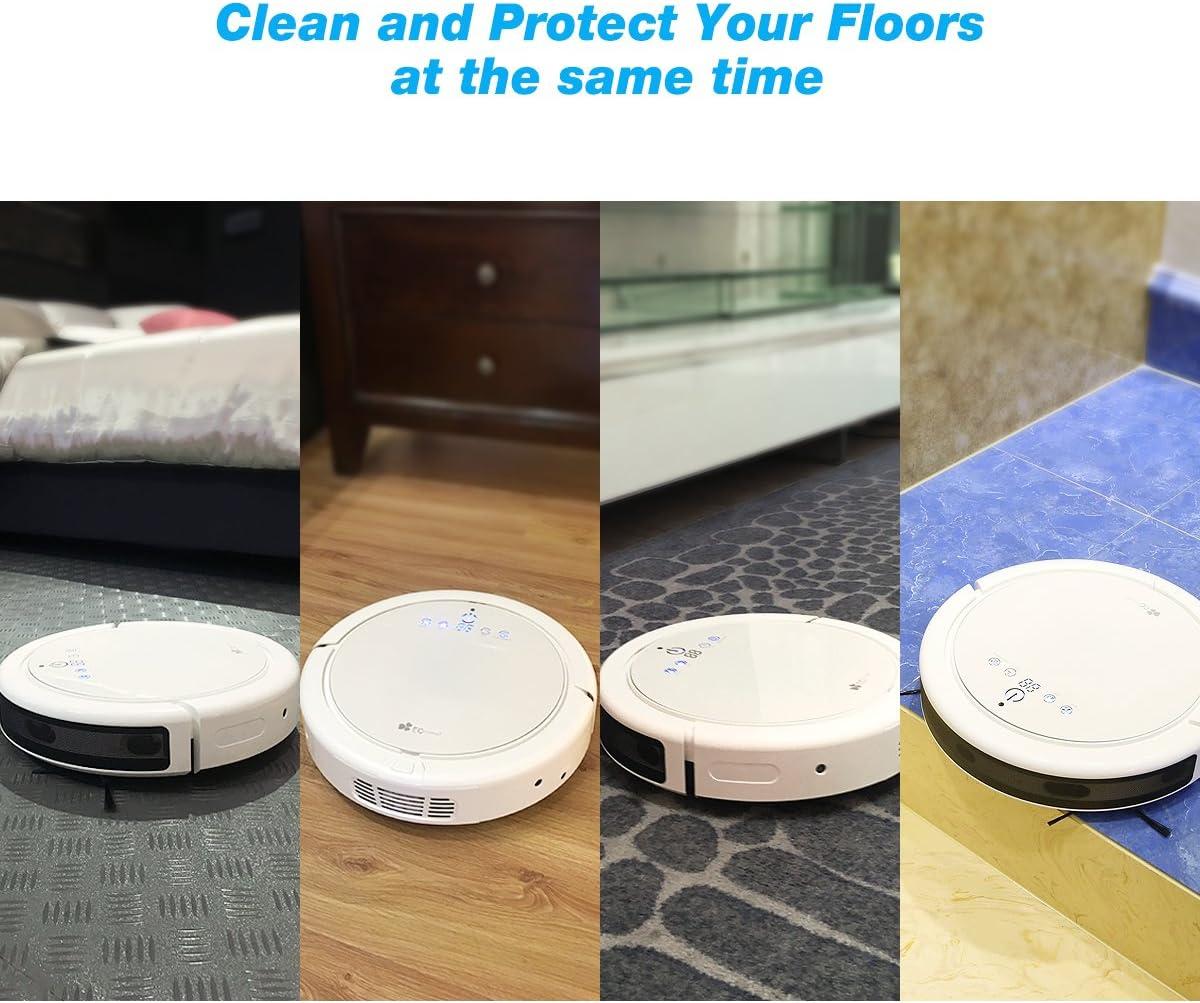 Robot Aspirador EC Technology con Alta Potencia de Succión, Sensor ...