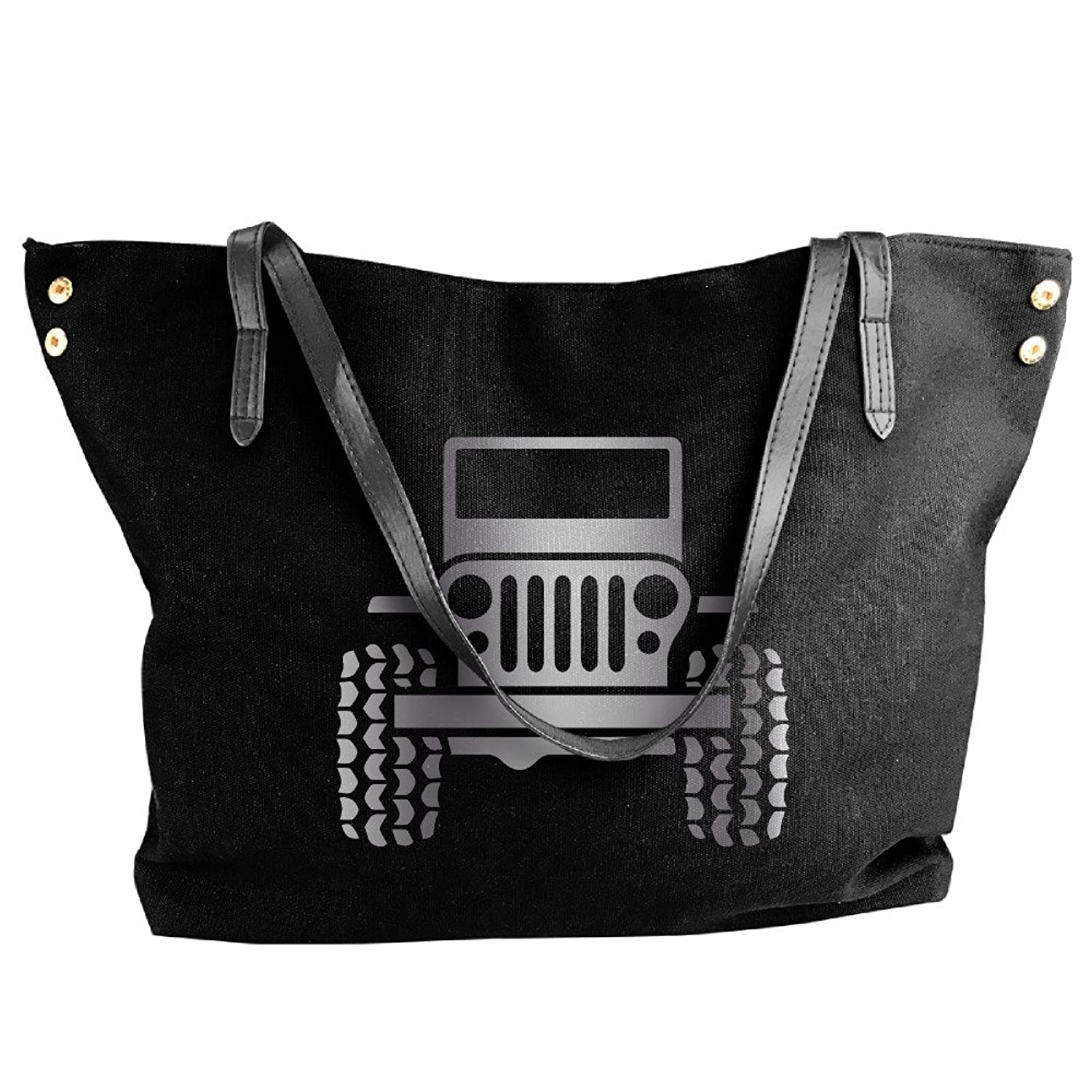 Jeep Wrangler Platinum Style Canvas Top Handle Handbags For Women