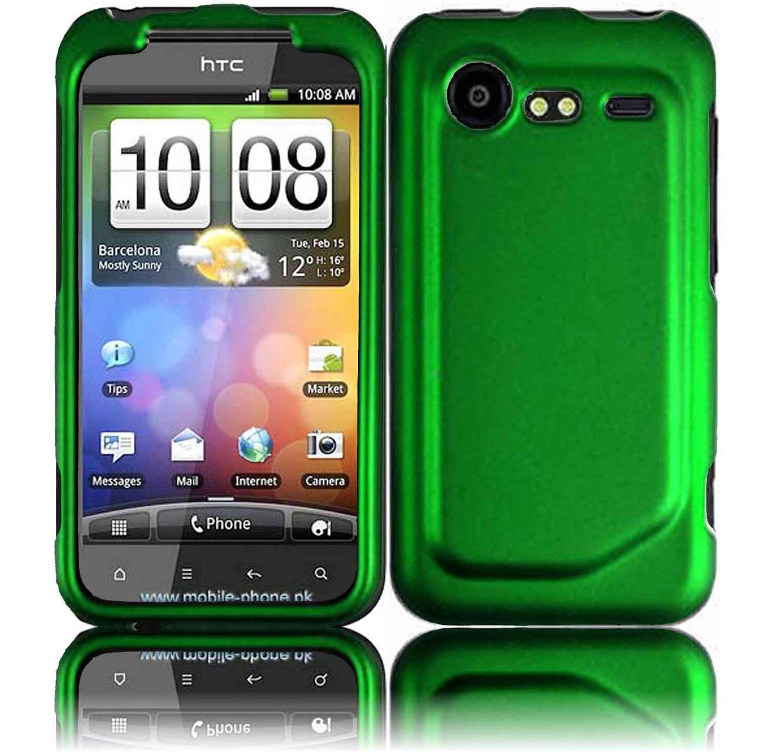 official photos c14a3 20289 Dark Green Hard Case Cover for HTC Droid Incredible 2 6350