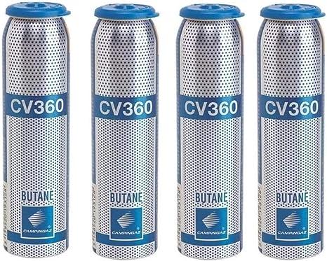 ALTIGASI Bombona de cartucho de cartuchos de gas 52 g – CV360 ...