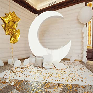 Zhy 5x7ft Gold Backdrop Stylish Simplicity Romantic Photography Background Wedding Party Bachelordom Party Backdrop Baby Shower Newborn Studio Video Props 317 Not Glitter
