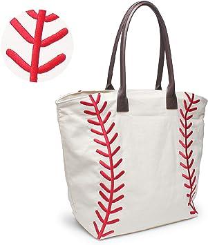 Amazon.com: YIQIGO Bolsa de béisbol bolso de mano para mujer ...