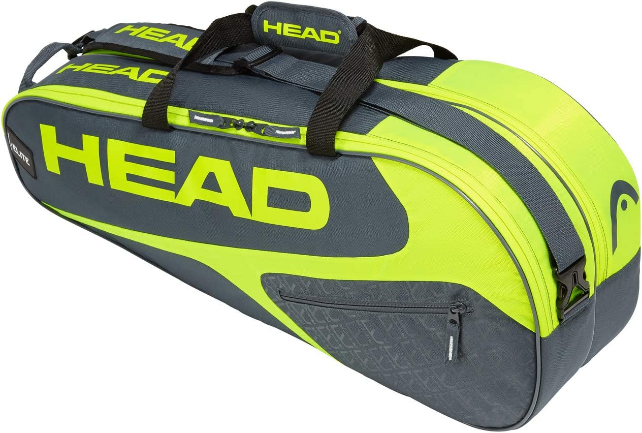 Head Elite Tennis Racket Bag Bolsa para Raquetas de Tenis, Unisex Adulto