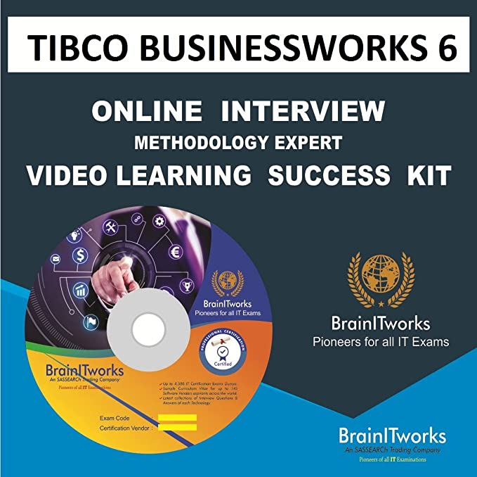 Amazon Buy Tibco Businessworks 6 Online Interview Video Learning