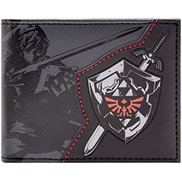 b83cc44dabfb3 Nintendo Zelda Lien Bouclier Noir Portefeuille: Amazon.fr: Bagages