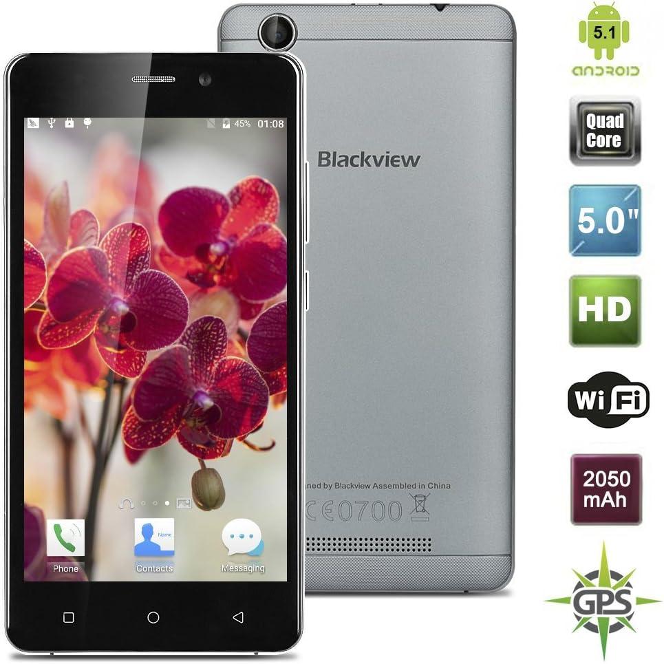 Blackview A8 Blanco plateado -móviles chinos españa: Amazon.es ...