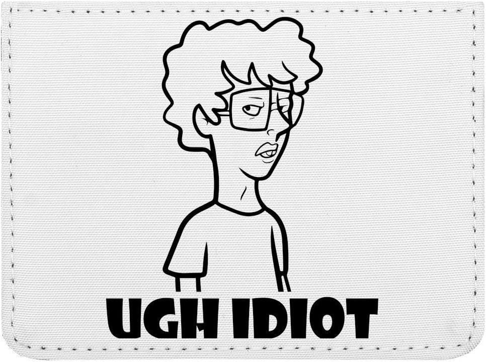 Napoleon Dynamite Ugh Idiot Funny Meme /Étui Cartes de cr/édit de Poche