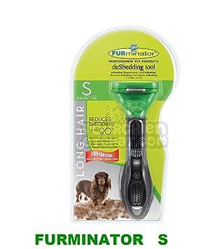 Furminator generación Herramienta Deshedding, para Perros de Talla pequeña con Pelo Largo Talla S hasta 9 kgs: Amazon.es: Productos para mascotas