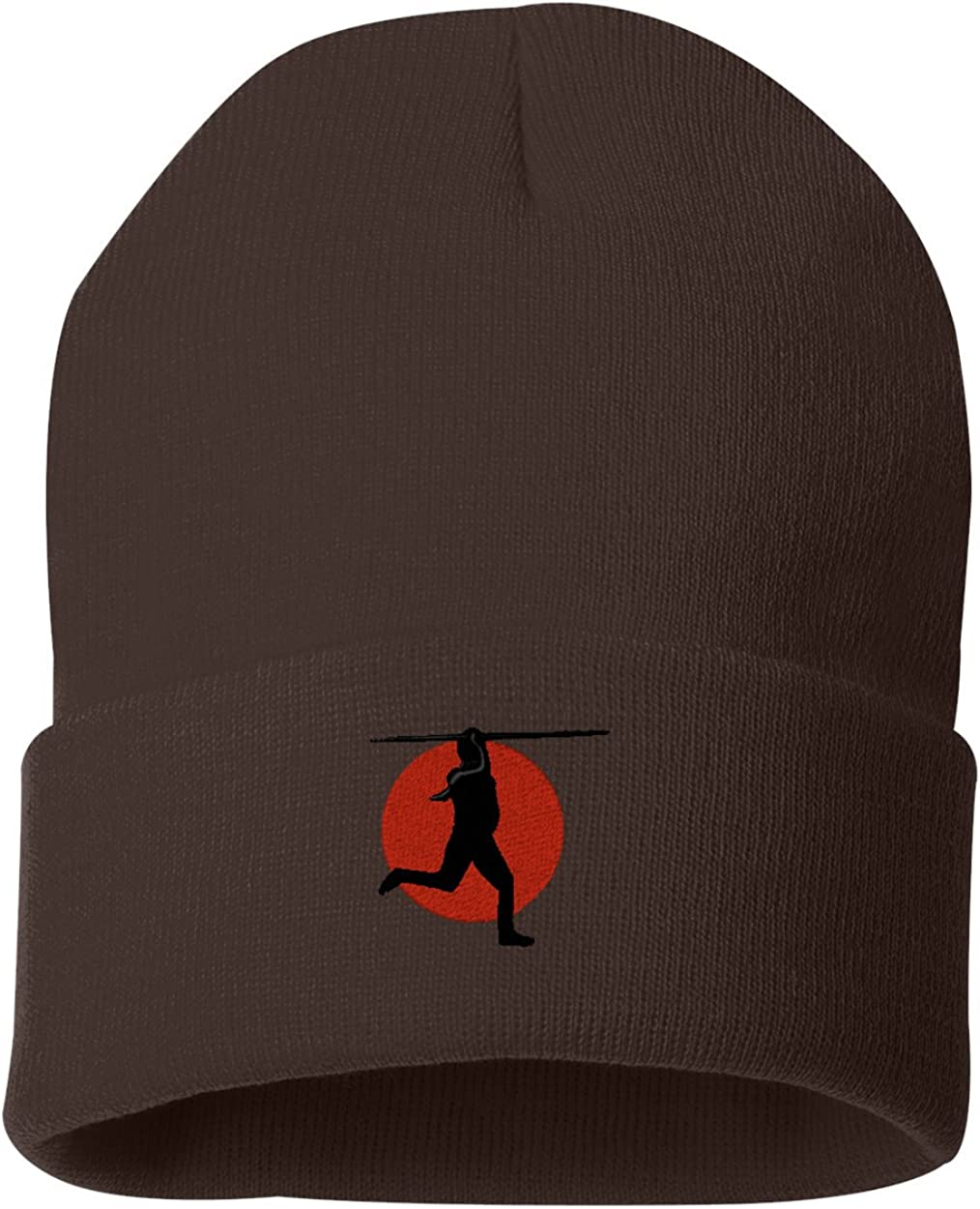 Female Javelin Logo Custom Personalized Embroidery Embroidered Beanie