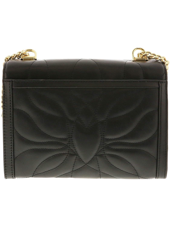 316fbb275444 Michael Kors Women s Whitney Petal Quilted Leather Shoulder Bag - Black   Handbags  Amazon.com